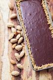 Chocolate tart Royalty Free Stock Images