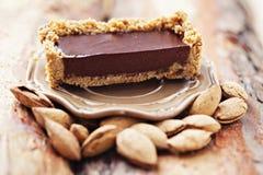 Chocolate tart Stock Photography