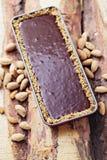 Chocolate tart Royalty Free Stock Photography