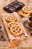 Chocolate tart. Royalty Free Stock Photos
