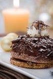Chocolate Tartlet Stock Photo