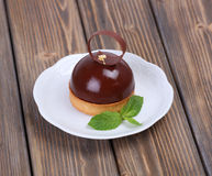 Chocolate tasty cake Royalty Free Stock Image