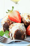 Chocolate teacakes Royalty Free Stock Images