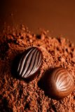 Chocolate temptation Royalty Free Stock Image