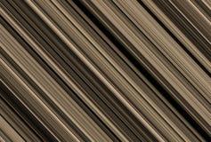 Chocolate texture background. geometrical pattern light dark strips volumetric canvas Stock Images