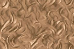 Chocolate texture, melted black chocolate with swirls royalty free illustration