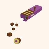 Chocolate theme elements vector,eps Stock Photos