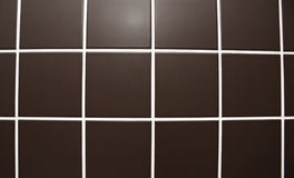 Chocolate tile texture Royalty Free Stock Images