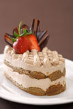 Chocolate Tiramisu Fotografia de Stock