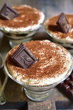 Chocolate tiramisu. Stock Images