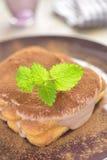 Chocolate tiramisu Stock Photo