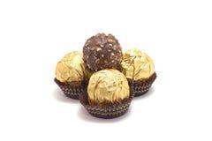 Chocolate to ball Stock Photos