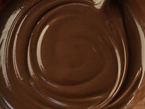 Chocolate to spread. Molten chocolate like Nutella to spread Royalty Free Stock Photos