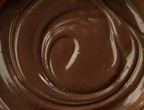Chocolate to spread - waves Royalty Free Stock Photos