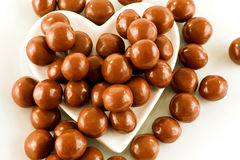 Chocolate toffee sweets Royalty Free Stock Image