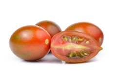 Chocolate Tomato or Brown color tomato  Stock Photography