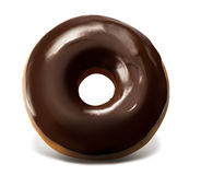 Chocolate Top Doughnut Stock Photography