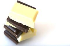 Chocolate tower stock photos