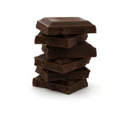 Chocolate tower Royalty Free Stock Photos