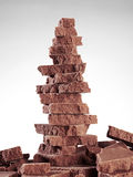 Chocolate tower Royalty Free Stock Photography