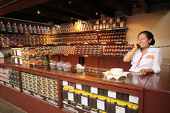 Chocolate trade - Oaxaca Royalty Free Stock Photo