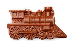 Chocolate train Stock Photo