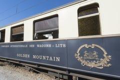 Chocolate train, Switzerland Royalty Free Stock Photography