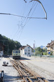 Chocolate train, Switzerland Royalty Free Stock Image