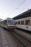 Chocolate train, Switzerland Stock Image
