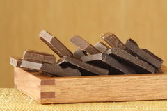 Chocolate treatment Royalty Free Stock Images