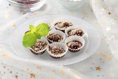 Chocolate treats Royalty Free Stock Photos