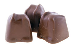 Chocolate trio Royalty Free Stock Photography