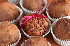Chocolate truffle Royalty Free Stock Photo
