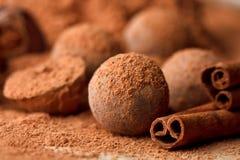 Chocolate truffle Royalty Free Stock Photos
