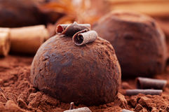 Chocolate Truffle Royalty Free Stock Image