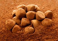 Chocolate truffle Royalty Free Stock Image