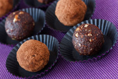 Chocolate truffle. Royalty Free Stock Images
