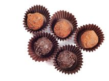 Chocolate truffle Stock Photography