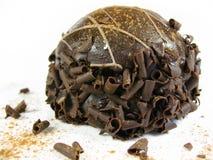 Chocolate truffle bomb Royalty Free Stock Image