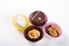 Chocolate Truffle Candies Stock Images