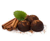 Chocolate truffle candy Royalty Free Stock Photo