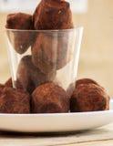 Chocolate truffle Royalty Free Stock Photography