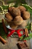 Chocolate truffle. Stock Photography