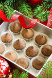 Chocolate truffle Stock Photo