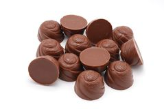 Chocolate truffles. Royalty Free Stock Images