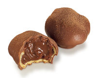 Chocolate truffles Stock Photos