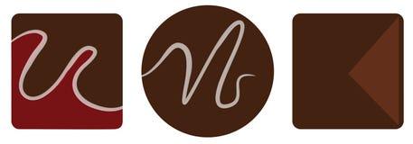 Chocolate Truffles Stock Images