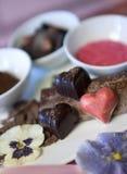 Chocolate Truffles Royalty Free Stock Photos