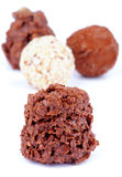 Chocolate Truffles Stock Images