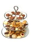 Chocolate truffles assortment Stock Photography